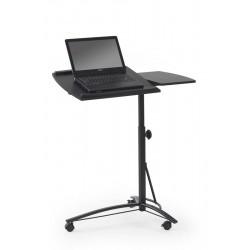 B-14 Laptop tartó asztal, 73*40*93 cm - fekete