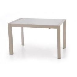 ARABIS üveg étkezőasztal, 122/182*80*76 cm