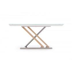 NEXUS üveg étkezőasztal, 160*90*76 cm