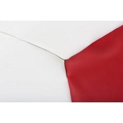 BERBO babzsák, 70 cm - fehér/piros 10335.01.129