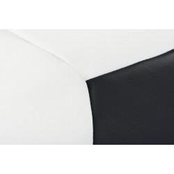 BERBO babzsák, 70 cm - fehér/fekete 10335.01.145