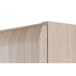 AVERO 2 ajtós polcos szekrény, 110*42*191 cm - tölgy/szürke-bézs 10189.08.883  ÚJDONSÁG!