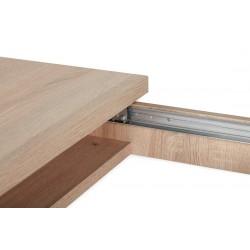 CRAM, AVERO asztal + 4 db szék, 161/201*90*77 cm 18022.02.954 ÚJDONSÁG!