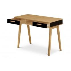 FRISK íróasztal, 110*48*75 cm - antracit/tölgy 10188.20.991  ÚJDONSÁG!