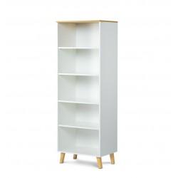 FRISK nyitott polcos szekrény, 65*46*182 cm - fehér 10188.03.135  ÚJDONSÁG!