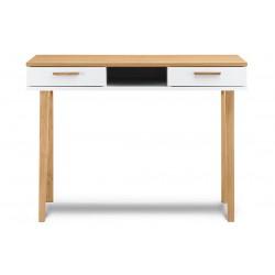 FRISK íróasztal, 110*48*75 cm - fehér 10188.20.135  ÚJDONSÁG!