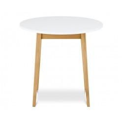 FRISK étkezőasztal, 80*80*75 cm - fehér 10188.22.135  ÚJDONSÁG!