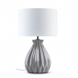 FABO asztali lámpa - szürke/fehér 10268.02.053 ÚJDONSÁG!