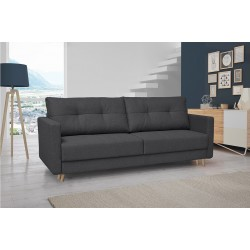 CONCOLI kanapé, 218*92*91 cm - sötét szürke 11126.01.059