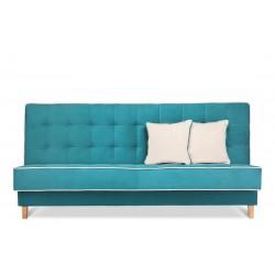DOZER kanapé, 198*93*85 cm - türkiz/ecru 10400.02.949