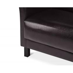 ESPECTO 2 sz. kanapé, 130*67*71 cm - sötét barna 10448.02.760 ÚJDONSÁG!