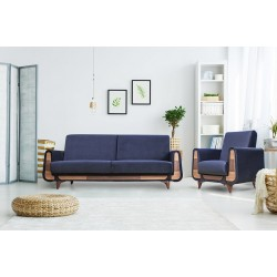GUSTAVO fotel, 83*81*95 cm - sötétkék 10973.02.920
