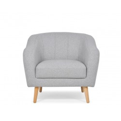 HAMPI fotel, 93*90*83 cm - világos szürke 11125.03.054