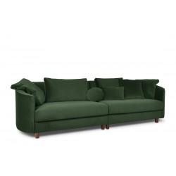 JUNI 4 sz. kanapé, 268*102*89 cm - sötét zöld 11165.01.307 ÚJDONSÁG!