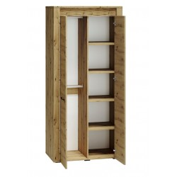 ARTIS 01 akasztós+polcos szekrény, 92*55*200 cm