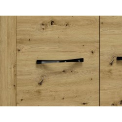 ARTIS 07 2 ajtós+4 fiókos komód, 138*40*94 cm