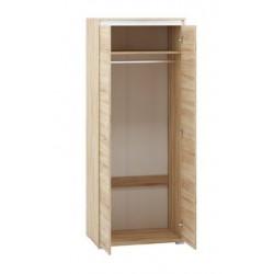AVO 02 akasztós szekrény, 80*50*200 cm - antracit