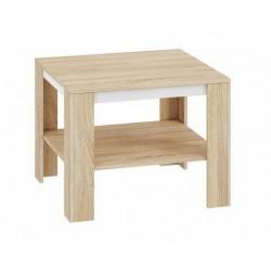 AVO 18 dohányzóasztal, 67*67*55 cm - fehér
