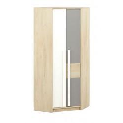 DROP 01 sarok szekrény, 82*82*199 cm - szürke patina