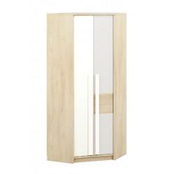 DROP 01 sarok szekrény, 82*82*199 cm - világos szürke