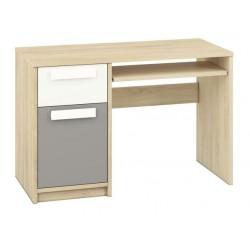 DROP 14 íróasztal, 119*55*79 cm - szürke patina