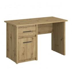 AYSON B1D1S/120 íróasztal, 120*59,5*75,5 cm - artisan tölgy