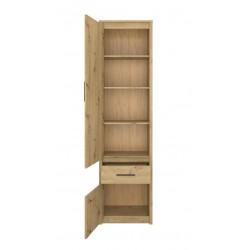 AYSON R2D1S polcos szekrény, 55,5*36*210,5 cm - artisan tölgy