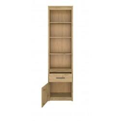 AYSON RO1D1S nyitott polcos szekrény, 55,5*36*210,5 cm - artisan tölgy