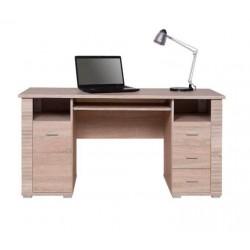 GRESS B1D3S/150 íróasztal, 155*67*76 cm - sonoma