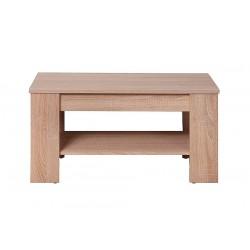 GRESS L70 dohányzóasztal, 66,5*38*50 cm - sonoma