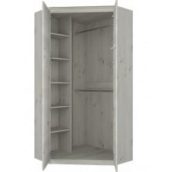 NONELL SZN2D sarok szekrény, 101*101*210 cm