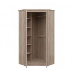 NORTY SZN2D sarok szekrény, 100,5x100,5x210 cm