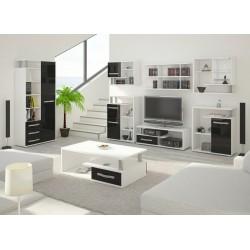 Angel 7. nappali összeállítás - fehér/fényes fekete