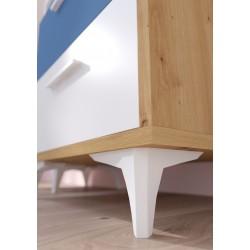 Hey Szett 1 gyerekbútor - Artisan tölgy/fehér/kék