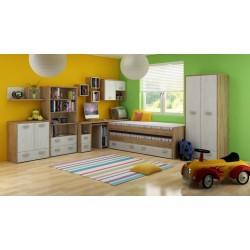 Kitty Szett 1 gyerekbútor - craft arany/craft fehér