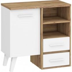 Nordis 4. nappali bútor - craft arany/fehér