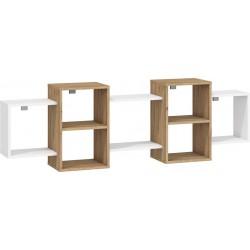 Nordis 2. nappali bútor - craft arany/fehér