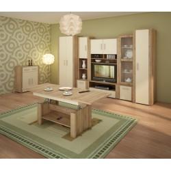 Notti Szett 1 nappali bútor - craft arany/krém