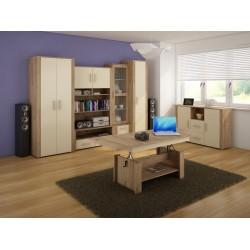Notti 2. nappali bútor - craft arany/krém