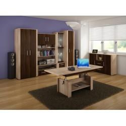 Notti 2. nappali bútor - világos sonoma/sötét sonoma/világos sonoma
