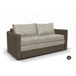 LEO 10. kanapé, 182*106*90 cm - barna/drapp