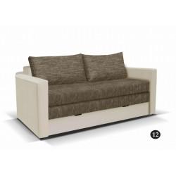 LEO 12. kanapé, 182*106*90 cm - bézs/barna