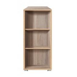 OFFICE LINE REG 53/114 alacsony polcos szekrény, 52,5*35x*114 cm