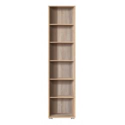 OFFICE LINE REG 53/220 nyitott polcos szekrény, 52,5*35*221 cm