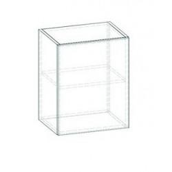 LIVIA LV-03 fali szekrény, 40*30*57,5 cm - világos sonoma
