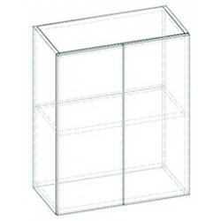 LIVIA LV-04 fali szekrény, 60*30*57,5 cm - világos sonoma