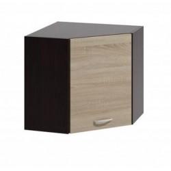 LIVIA LV-05 sarok fali szekrény, 60*60*57,5 cm - világos sonoma