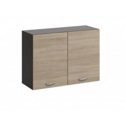 LIVIA LV-06 fali szekrény, 80*30*57,5 cm - világos sonoma