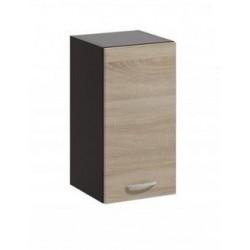 LIVIA LV-07 fali szekrény, 30*30*57,5 cm - világos sonoma