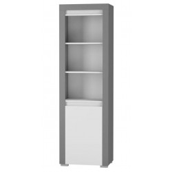 ALABAMA ABR-1 nyitott polcos szekrény, 60*38,9*194,8 cm